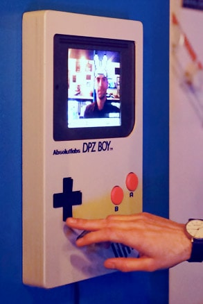 GameBoy Photobooth